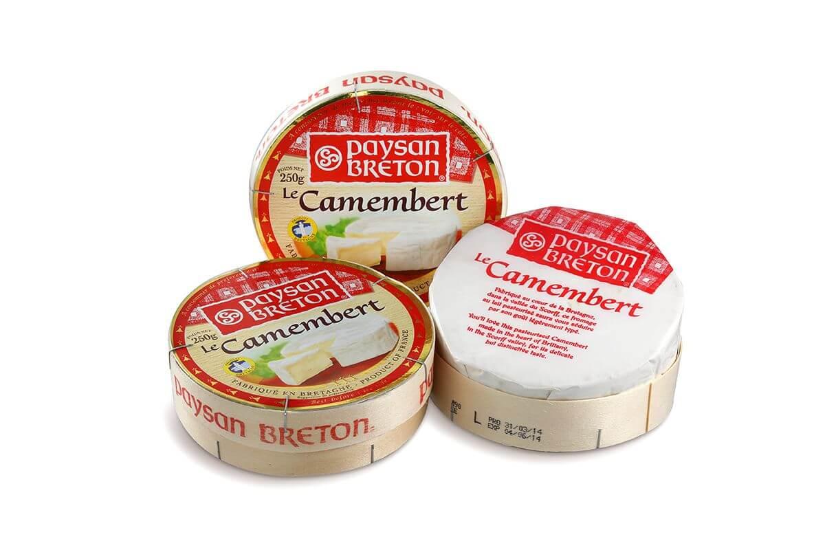 Phô mai Camembert PB 125g/250g