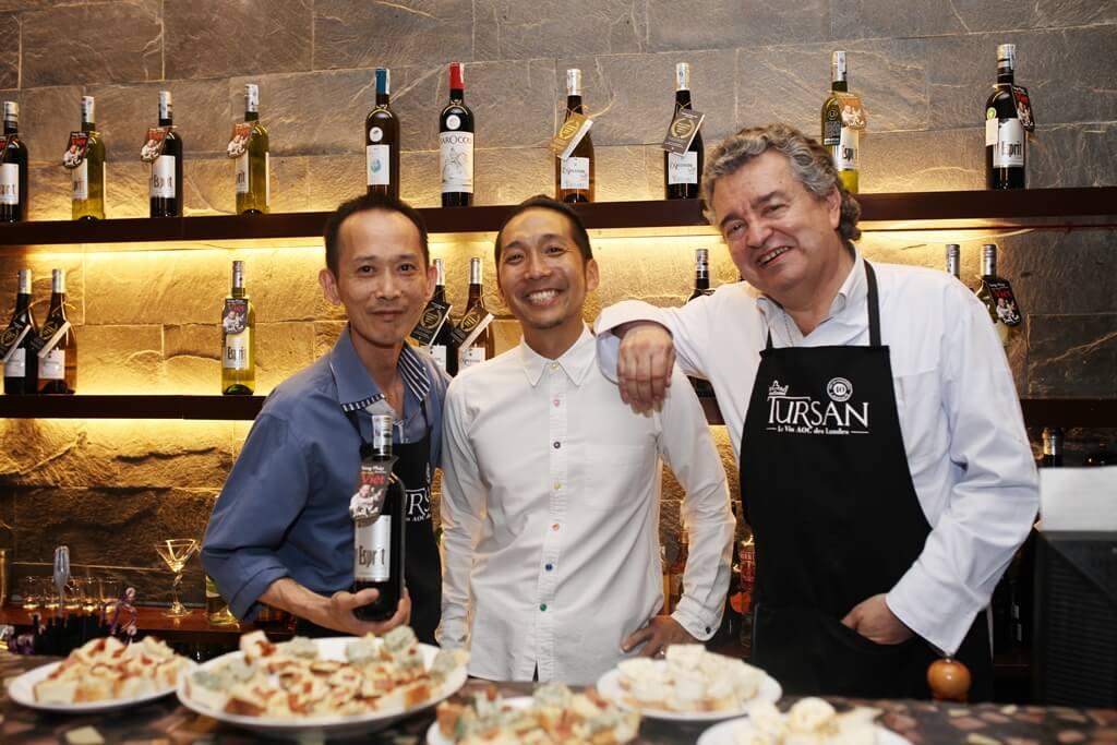 Esprit de Tursan mang bất ngờ thú vị cho khách hàng Pizza 4Ps