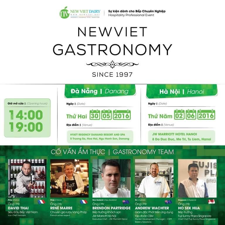New Viet Gastronomy – Sự kiện dành cho bếp chuyên nghiệp