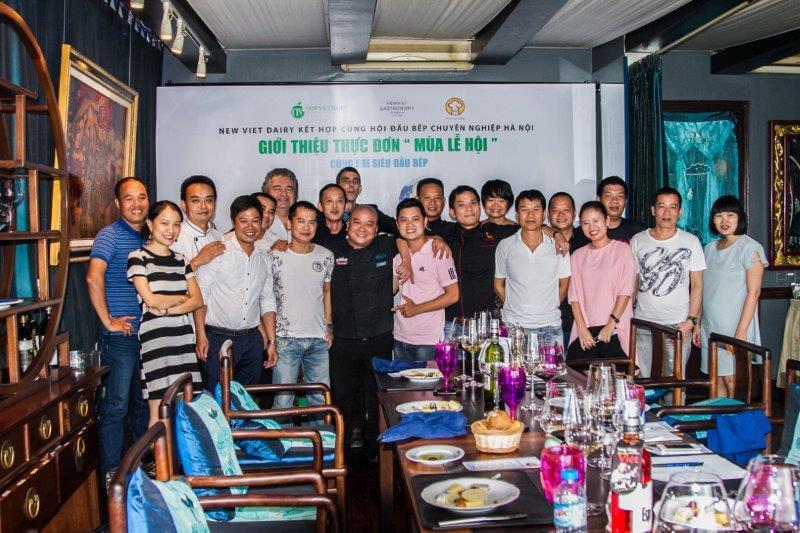 """Chương trình giao lưu """"Giới thiệu thực đơn MÙA LỄ HỘI"""" cùng Hội đầu bếp chuyên nghiệp Hà Nội"""