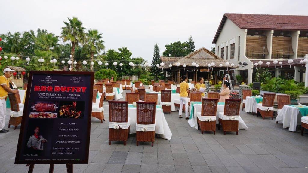 Tiệc BBQ cùng rượu vang Esprit tại Almanity & Palm Garden