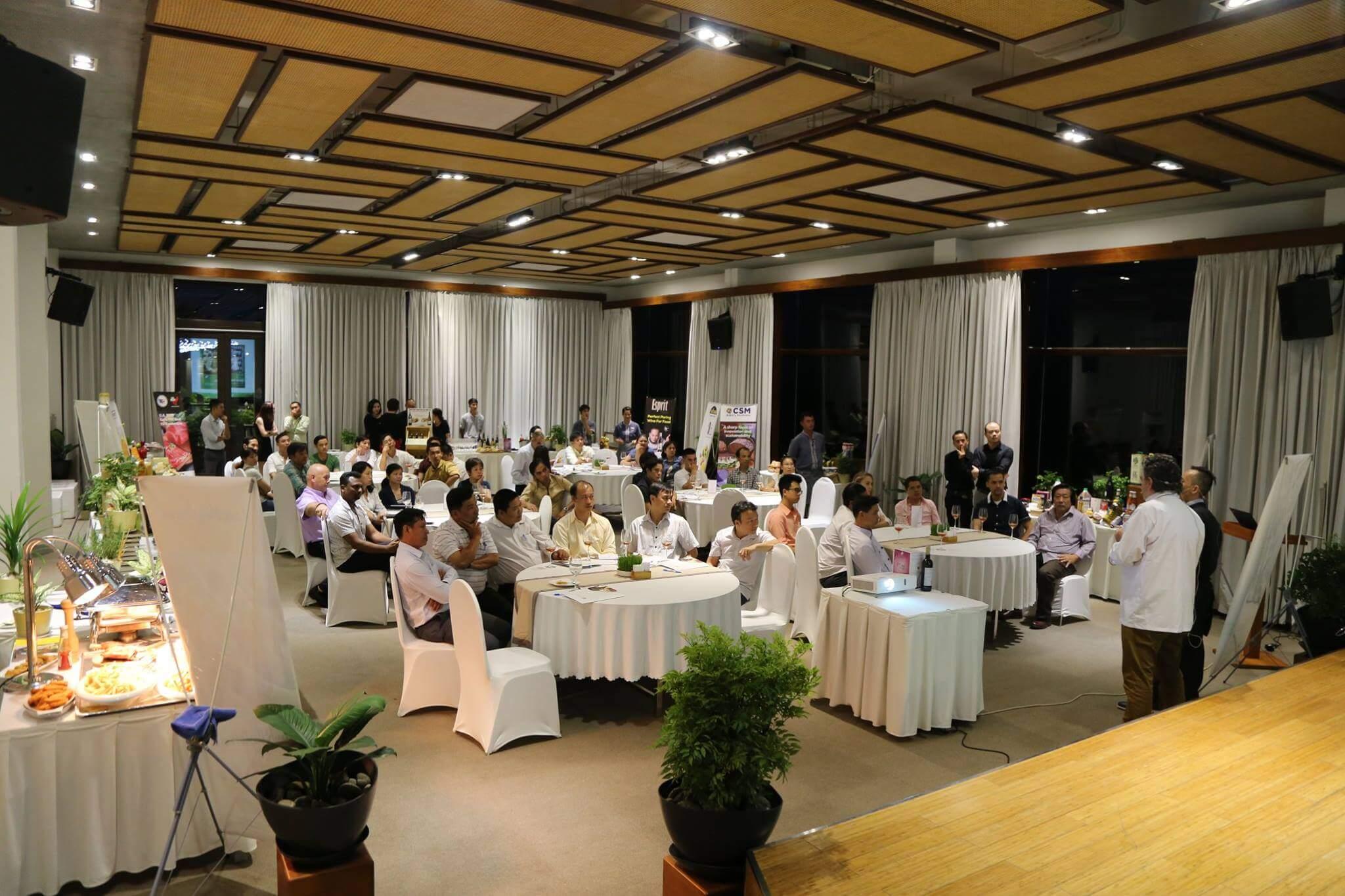 Sự kiện dành cho Bếp chuyên nghiệp tại Phan Thiết