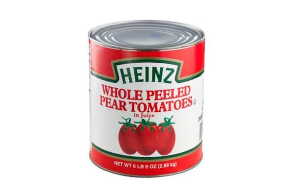 Cà chua lột vỏ nguyên trái Heinz 2,89kg