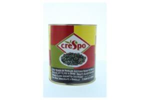 Oliu đen cắt lát Crespo 2480ml