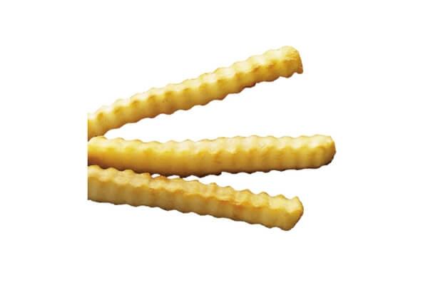 Khoai tây răng cưa cắt 1/2″ NG 2,26kg