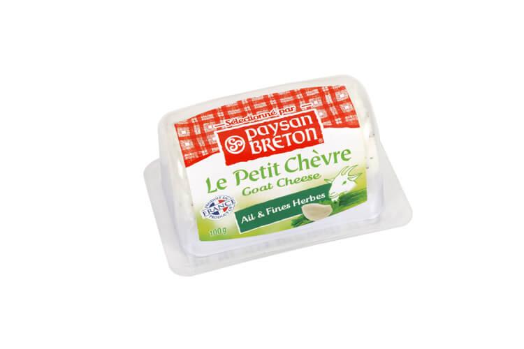 Phô mai dê với tỏi & thảo mộc Paysan Breton