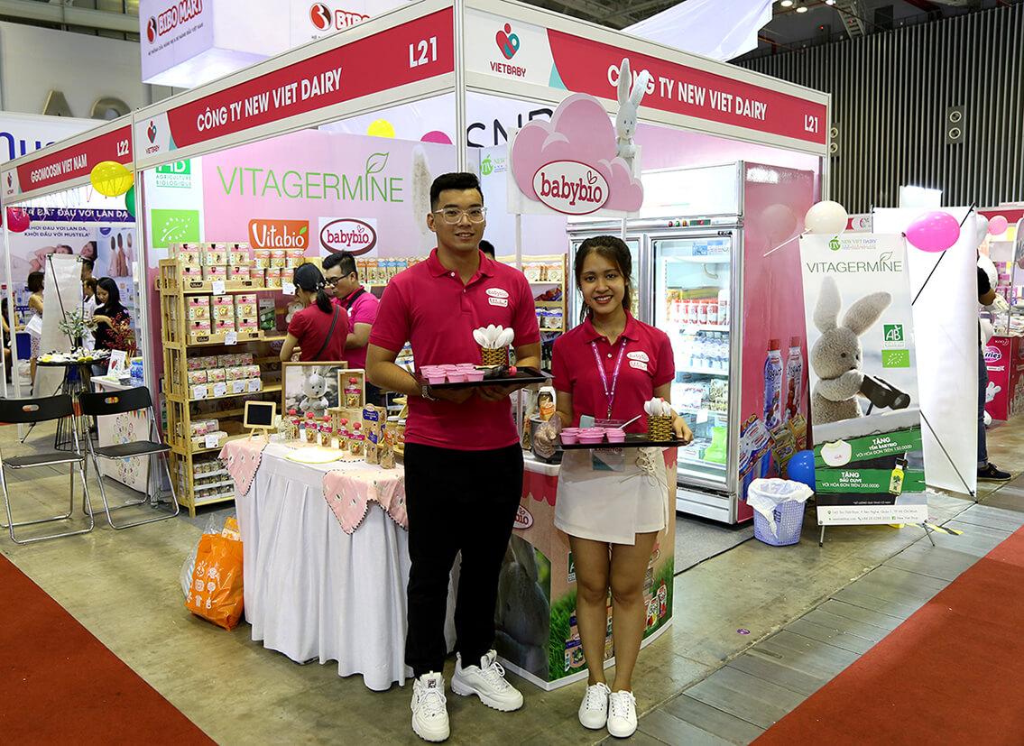 New Viet Dairy tham dự triển lãm VietBaby 2018