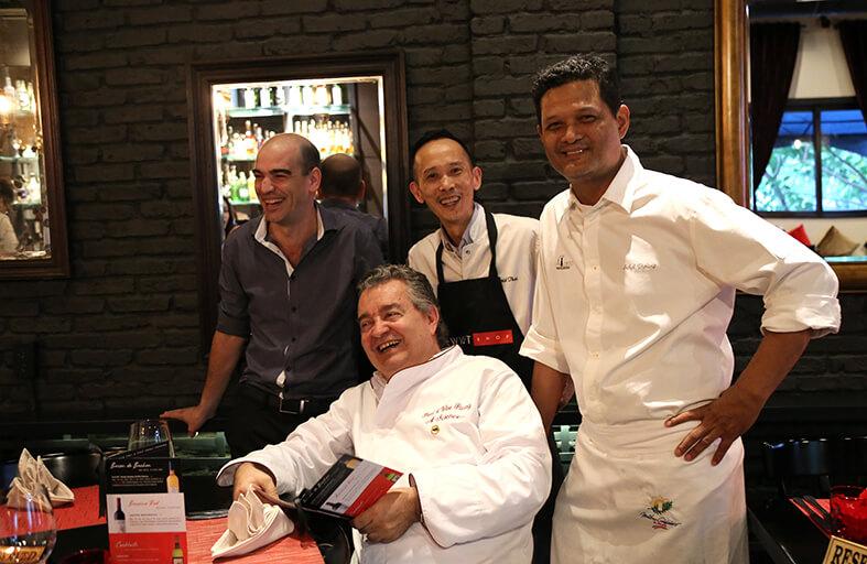 """Chương trình ẩm thực """"Dạo vòng quanh xứ Basque"""" tại nhà hàng Le Corto Sài Gòn"""