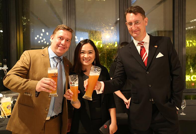 New Viet Dairy tham dự Ngày Quốc khánh Đức tại Thành phố Hồ Chí Minh