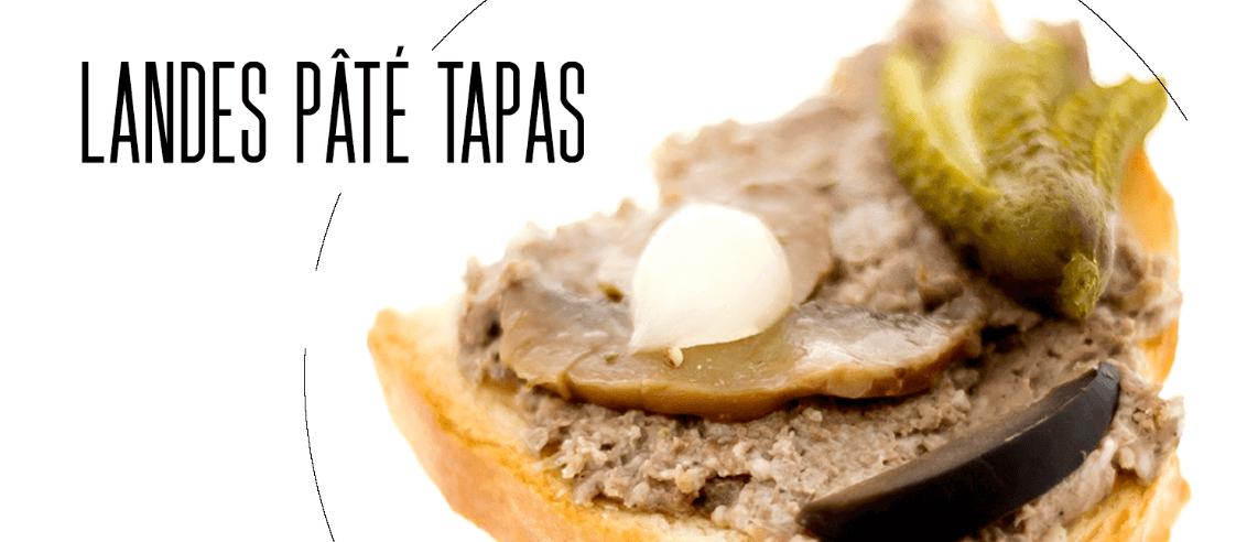 """Công thức món """"Landes Pâté Tapas"""""""